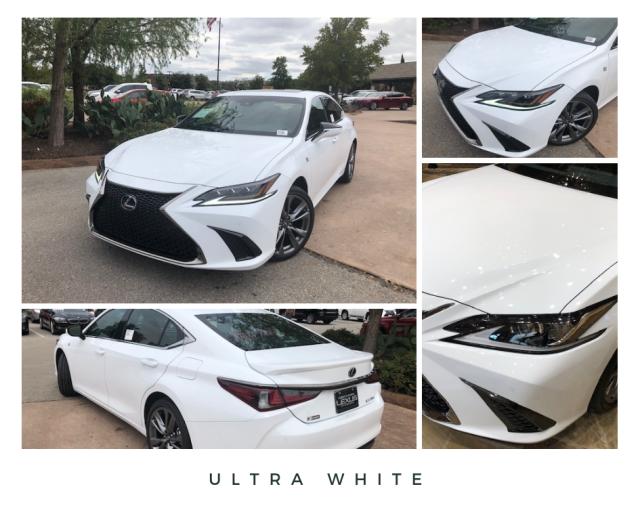 Ultra White ES 350 F SPORT